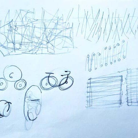 idee ontwikkel schets